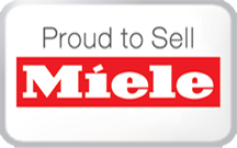 Proud to sell miele
